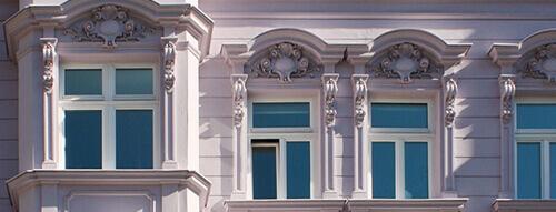Fassade des Hauses